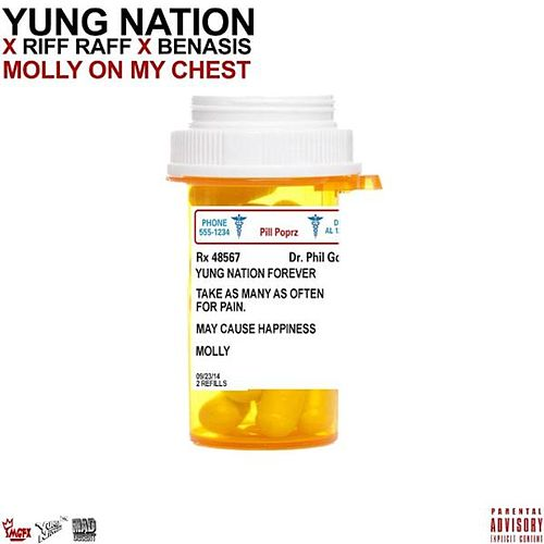 Molly on My Chest (feat. Riff Raff & Benasis) de Yung Nation