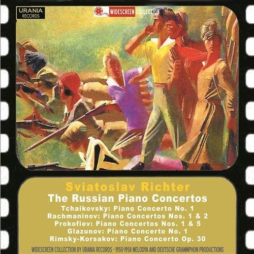 The Russian Piano Concertos de Sviatoslav Richter