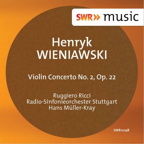 Wieniawski: Violin Concerto No. 2, Op. 22 de Ruggiero Ricci