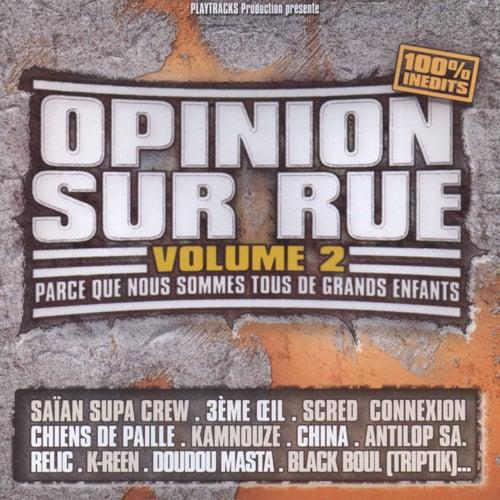 Opinion Sur Rue Vol.2 de Various Artists