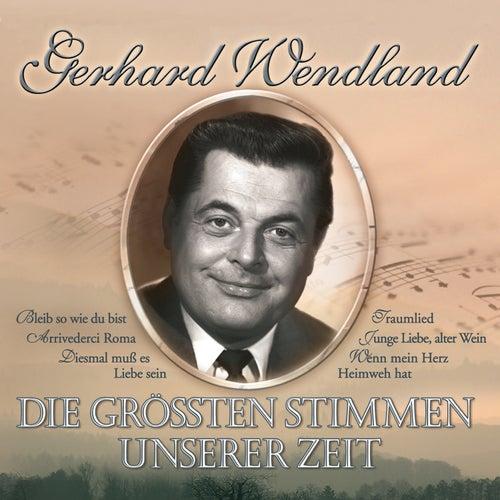 Die grössten Stimmen unserer Zeit de Gerhard Wendland
