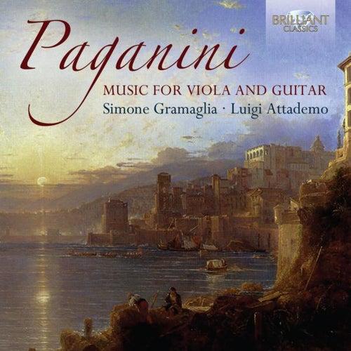 Paganini Music for Viola and Guitar by Luigi Attademo