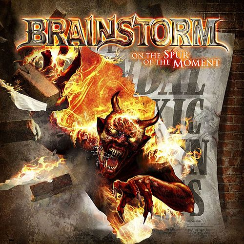 On the Spur of the Moment by Brainstorm (Metal)