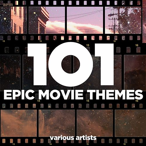 101 Epic Movie Themes von Various Artists