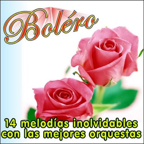 Boléro, 14 Melodias Inolvidables Con las Mejores Orquestas von Various Artists
