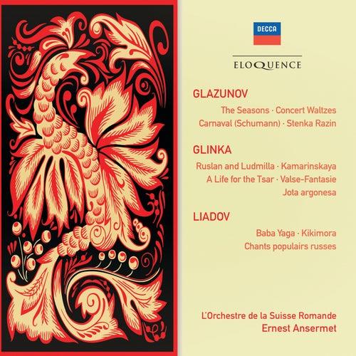 Glazunov: The Seasons; Concert Waltzes; Schumann: Carnaval von Ernest Ansermet