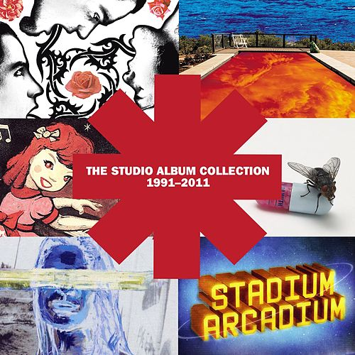 The Studio Album Collection 1991 - 2011 by Red Hot Chili Peppers