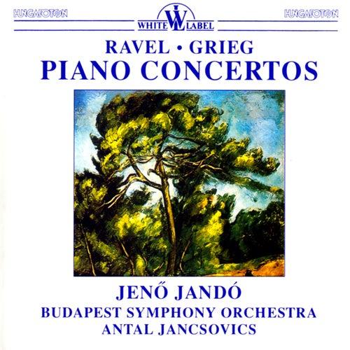 Ravel & Grieg: Piano Concertos di Jeno Jando