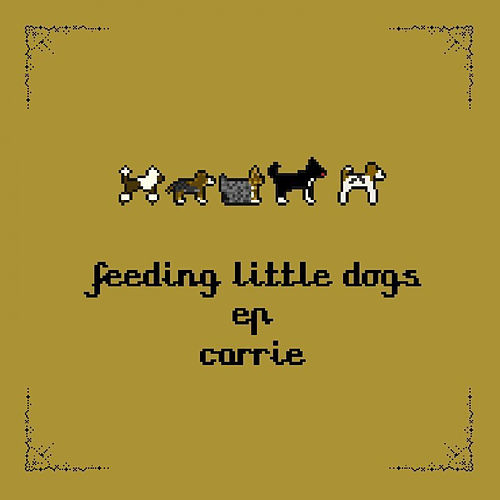 Feeding Little Dogs by Carrie