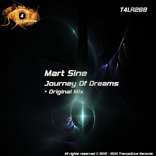 Journey Of Dreams van Mart Sine