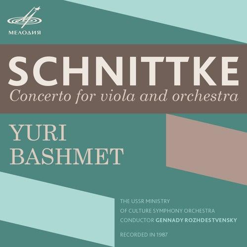 Schnittke: Concerto for Viola & Orchestra de Yuri Bashmet