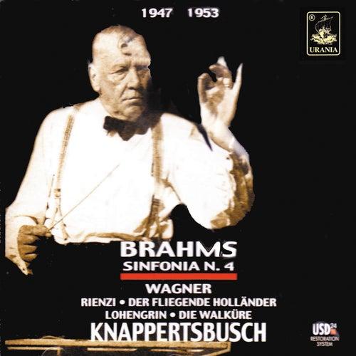 Brahms: Symphony No. 4 - Wagner: Ouvertures von Hans Knappertsbusch