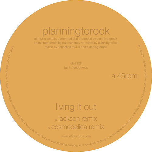 Living It Out (Remixes) by Planningtorock