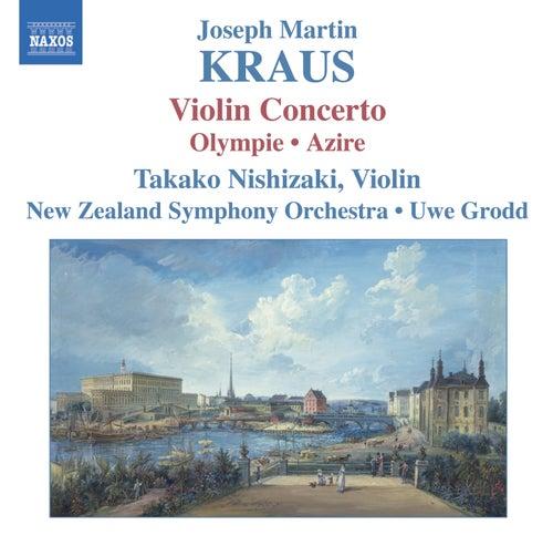 KRAUS: Concerto for Violin and Orchestra, Olympie Overture/Azire di Takako Nishizaki