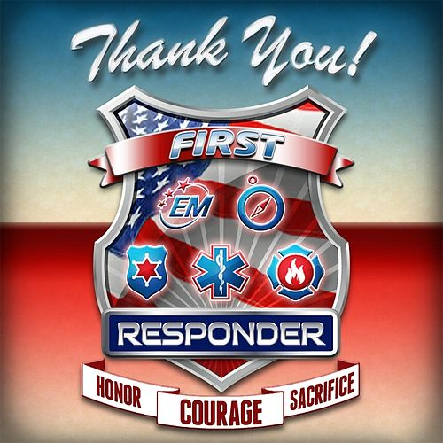 Thank You First Responder by Matt Jackson