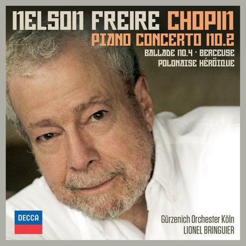 Chopin: Piano Concerto No.2; Ballade No.4; Berceuse; Polonaise Héroïque di Nelson Freire