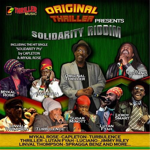 Solidarity Riddim (Original Thriller Presents) by Various Artists