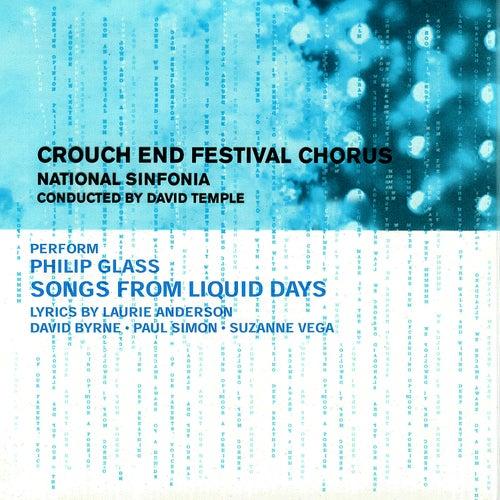 Glass: Songs from Liquid Days de David Temple