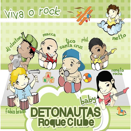 Detonautas para Bebês (Viva o Rock) de Detonautas