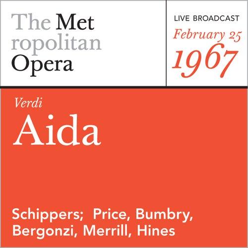 Verdi: Aida (February 25, 1967) by Giuseppe Verdi
