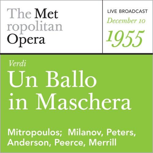 Verdi: Un Ballo in Maschera (December 10, 1955) by Metropolitan Opera