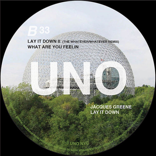 Lay It Down by Jacques Greene
