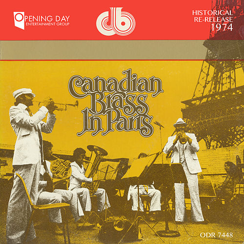 Canadian Brass in Paris de Canadian Brass