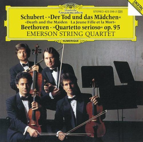 Schubert: String Quartet 'Death and the Maiden' D 810 / Beethoven: String Quartet 'Quartetto serioso' Op.95 by Emerson String Quartet