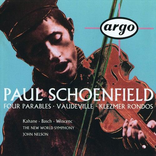 Schoenfield: 4 Parables; Vaudeville; Klezmer Rondos by Jeffrey Kahane