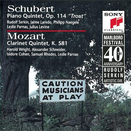 Schubert: Trout Quintet & Mozart: Clarinet Quintet de Marlboro Recording Society