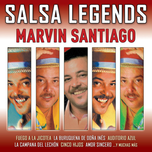 Salsa Legends de Marvin Santiago