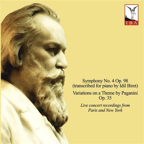 Brahms: Symphony No. 4, Variations on a Theme by Paganini & 8 Klavierstücke  (Live) by İdil Biret