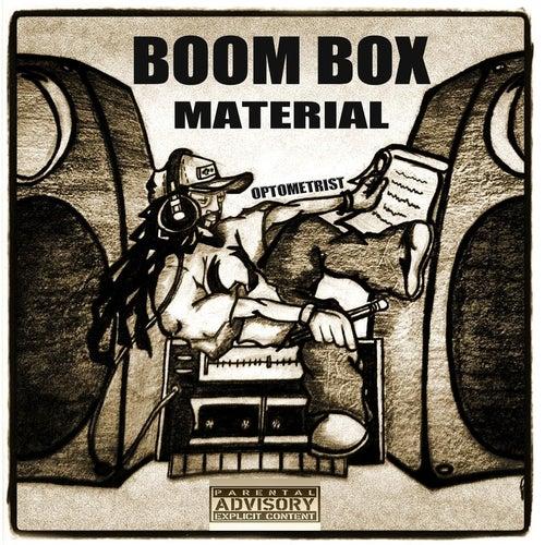 Boom Box Material de Optometrist