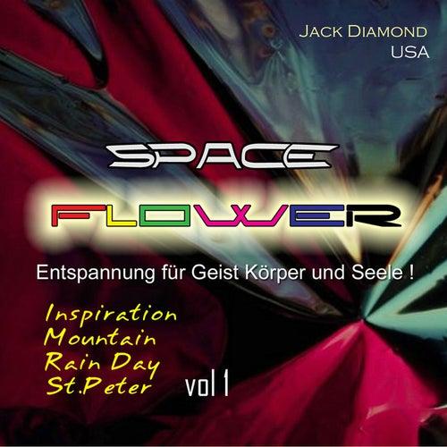 Space Flower von Jack Diamond