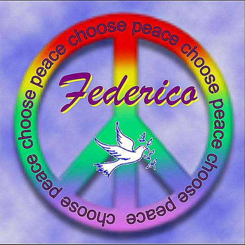 Choose Peace de Federico