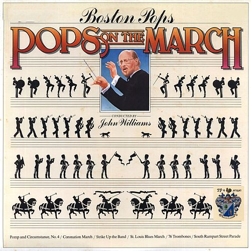 Pops On the March by Boston Pops