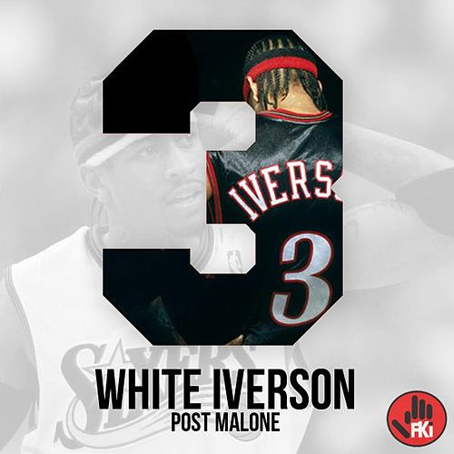 White Iverson de Post Malone