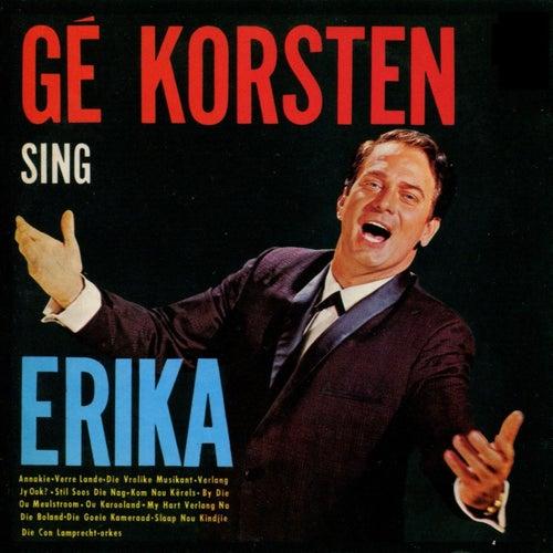 Gé Korsten Sing Erika von Gé Korsten