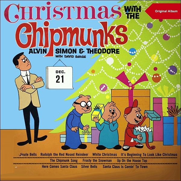 Alvin And The Chipmunks Christmas.Christmas With Chipmunks Original Christmas Album By Alvin