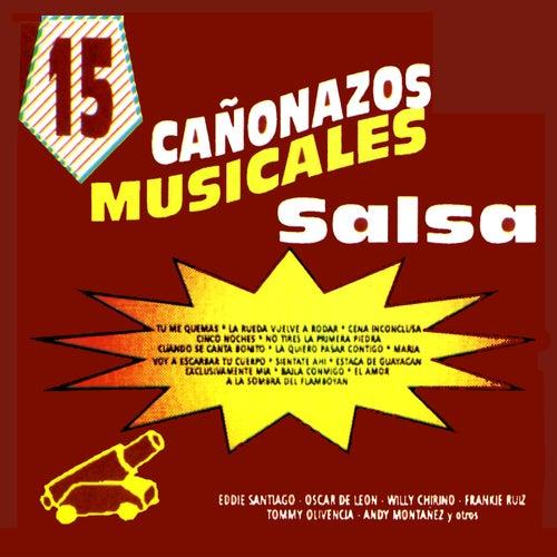 15 Canonazos Musicales Con Salsa von Various Artists