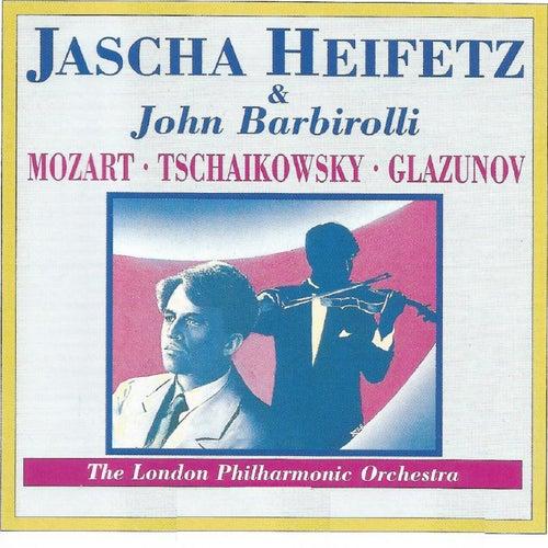 Mozart - Tschaikowsky - Glazunov de Jascha Heifetz