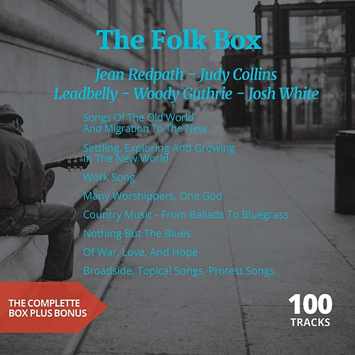 The Folk Box (The Complette Box Plus Bonus) de Various Artists
