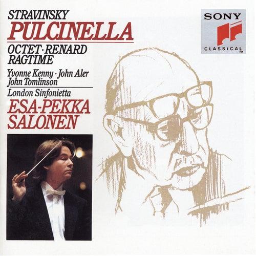 Stravinsky: Pulcinella, Octet, Renard & Ragtime von Esa-Pekka Salonen