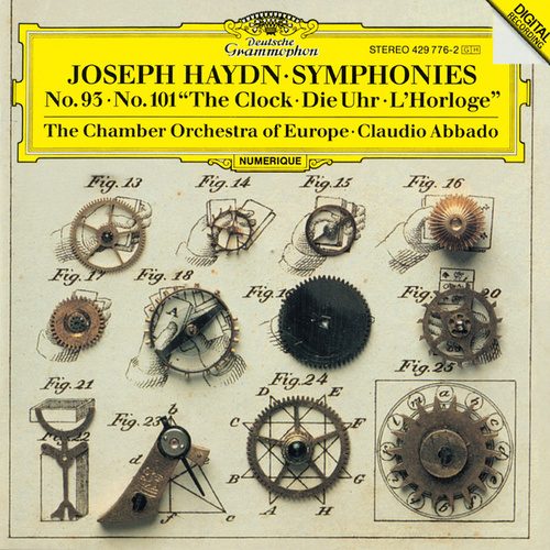 Haydn: Symphonies Nos. 93 & 101 'The Clock' di Claudio Abbado