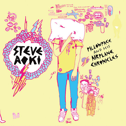 Pillowface And His Airplane Chronicles by Steve Aoki