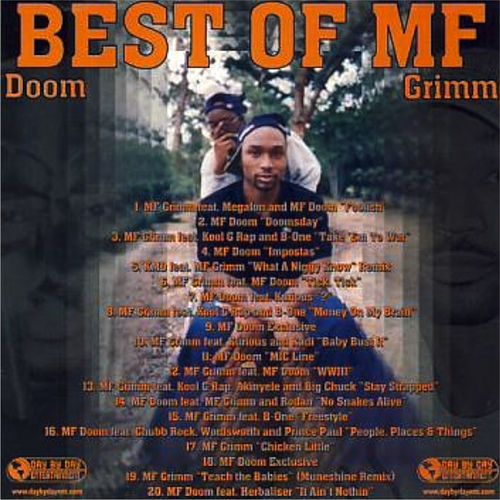 Best of Mf de MF Grimm