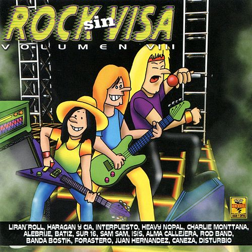 Rock Sin Visa, Vol. 8 de Various Artists