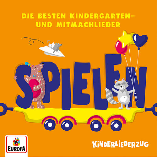 Kinderliederzug - Die besten Kindergarten- und Mitmachlieder: Spielen by Lena, Felix & die Kita-Kids
