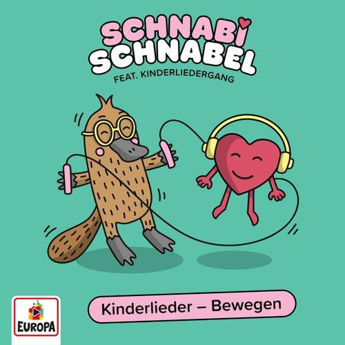 Kinderliederzug - Die besten Kindergarten- und Mitmachlieder: Bewegen von Lena, Felix & die Kita-Kids