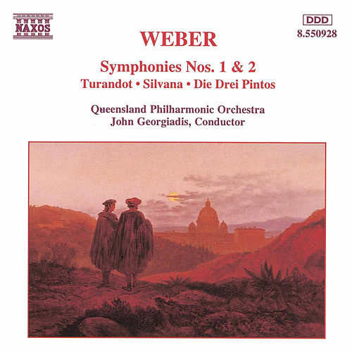 Symphonies Nos. 1 and 2 by Carl Maria von Weber